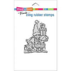 Stampendous Cling Stamp - Gnome Shoppers