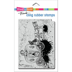 Stampendous Cling Stamp - Scary Carriage