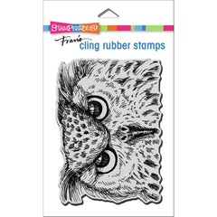 Stampendous Cling Stamp - Owl Eyes