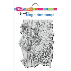 Stampendous Cling Stamp - One Horse Sleigh