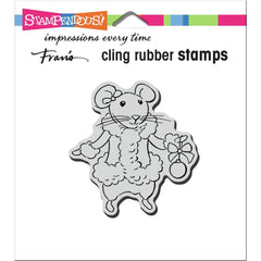 Stampendous Cling Stamp - Mrs. Mouse