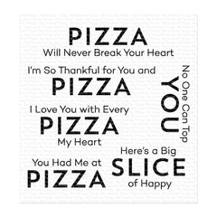 My Favorite Things Stamps - Pizza My Heart