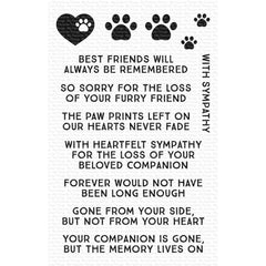 "My Favorite Things Clear Stamps 4""X6"" - Critter Condolences"