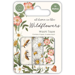 Craft Consortium Washi Tape 3 pack - At Home In The Wildflowers