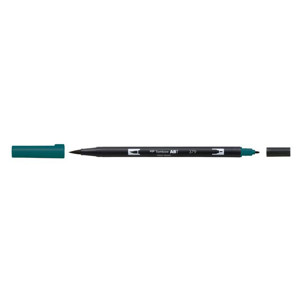 American Tombow - Dual Brush Pen - 379 Jade Green