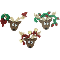 Dress It Up Holiday Embellishments - Oh Deer