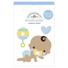 Doodlebug Doodle-Pops 3D Stickers - On The Move, Special Delivery
