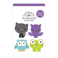 Doodlebug Doodle-Pops 3D Stickers - Boo Crew