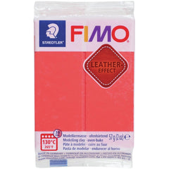 Fimo Leather Effect Polymer Clay 2oz - Watermelon