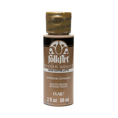 FolkArt Acrylic Paint 2oz - Coffee Latte