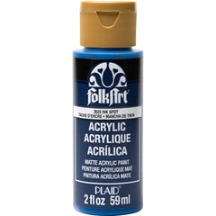 FolkArt Acrylic Paint 2oz - Ink Spot