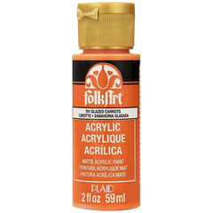 FolkArt Acrylic Paint 2oz - Glazed Carrot