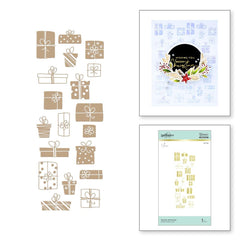 Spellbinders Glimmer Hot Foil Plates By Yana Smakula - Glimmer Gift Border
