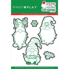 PhotoPlay Etched Die - Gnome For Christmas