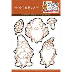 PhotoPlay Etched Die - Gnome For Thanksgiving