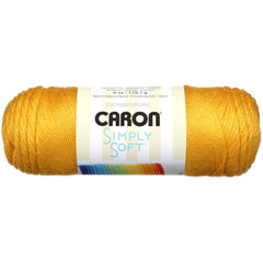 Caron Simply Soft Solids Yarn Gold - 170g