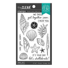 Hero Arts Clear Stamps 4in x 6in - Sea You Soon