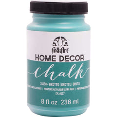 FolkArt Home Decor Chalk Paint 8oz - Grotto