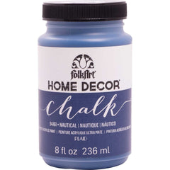 FolkArt Home Decor Chalk Paint 8oz - Nautical