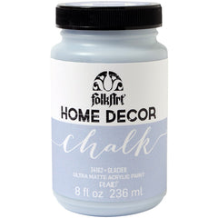 FolkArt Home Decor Chalk Paint 8oz - Glacier