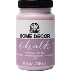 FolkArt Home Decor Chalk Paint 8oz - Lilac