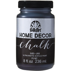 FolkArt Home Decor Chalk Paint 8oz - Java