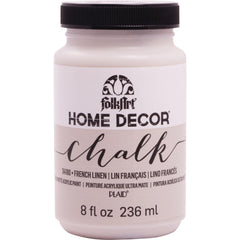 FolkArt Home Decor Chalk Paint 8oz - French Linen