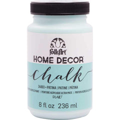 FolkArt Home Decor Chalk Paint 8oz - Patina