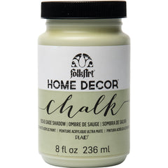 FolkArt Home Decor Chalk Paint 8oz - Sage