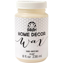 FolkArt Home Decor Wax Sealer 8oz - White