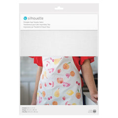 Silhouette Printable Heat Transfer 8 1/2 in x 11 in - Fabric