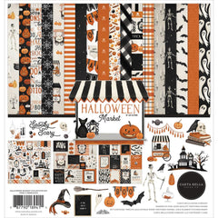 Carta Bella Collection Kit 12in x 12in - Halloween Market