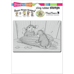 Stampendous House Mouse Cling Stamp - Corn Toothed