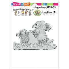 Stampendous House Mouse Cling Stamp - Scarecrow Copier