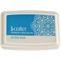 i-crafter Hybrid Ink Pad - Skysail Blue
