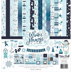Echo Park Collection Kit 12in x 12in - Winter Magic