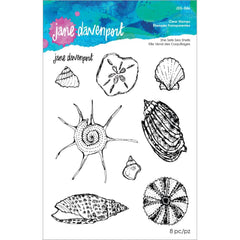 Spellbinders Clear Stamp Set By Jane Davenport - She Sells Seashells
