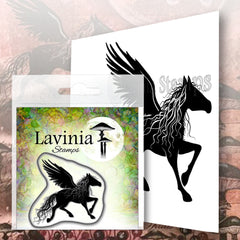 Lavinia Stamps - Sirlus - Polymer Stamp - Size 6 x 6.5cm