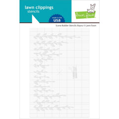 Lawn Clippings Stencils - Scene Builder: Bayou