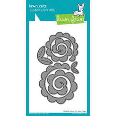Lawn Cuts Custom Craft Die - Rolled Roses