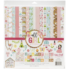 Echo Park Collection Kit 12in x 12in  - All Girl