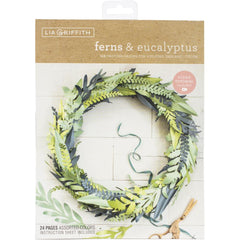 Lia Griffith Paper Stack 8.5in X11in  24 pack - Fern