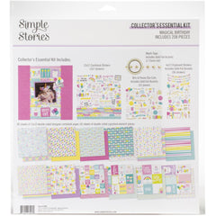 Simple Stories Collector's Essential Kit 12in X12in  - Magical Birthday