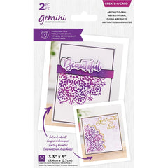 Crafter's Companion Gemini Create-A-Card Die - Abstract Floral
