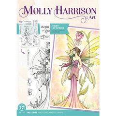 Crafter's Companion Photopolymer Stamps By Molly Harrison - Fairy Of Spring