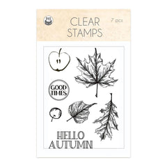 P13 Photopolymer Stamps 7 pack - The Four Seasons-Autumn