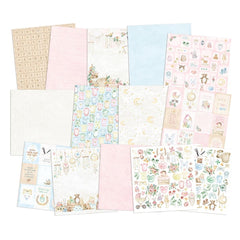 P13 Double-Sided Paper Pad 12in x 12in  12 pack - Baby Joy, 6 Designs/2 Each