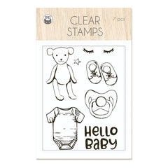 P13 Photopolymer Stamps 7 pack - Baby Joy