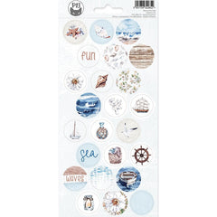 P13 Beyond The Sea Cardstock Stickers 4in x 9in - #03