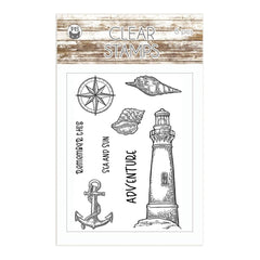 P13 Photopolymer Stamps 8 pack - Beyond The Sea